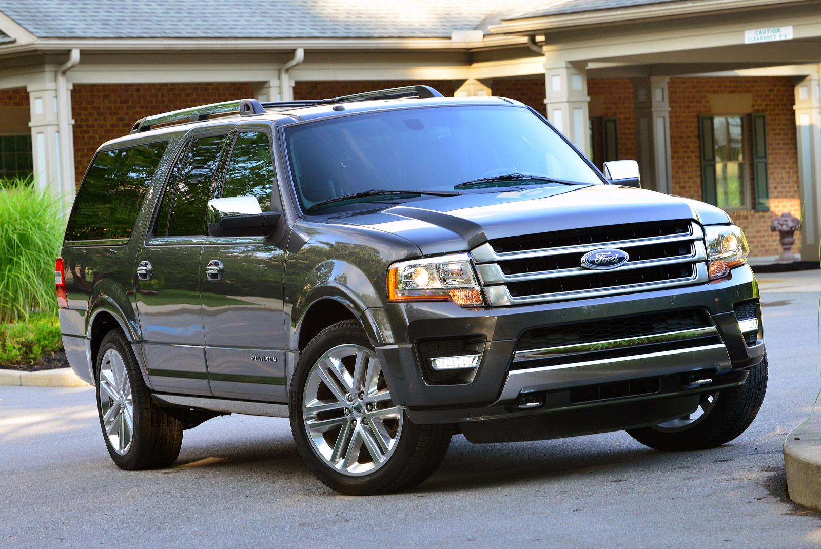 3 5 L Ecoboost >> 2015 Ford Expedition Gets 3.5L EcoBoost V6, Platinum Model - autoevolution