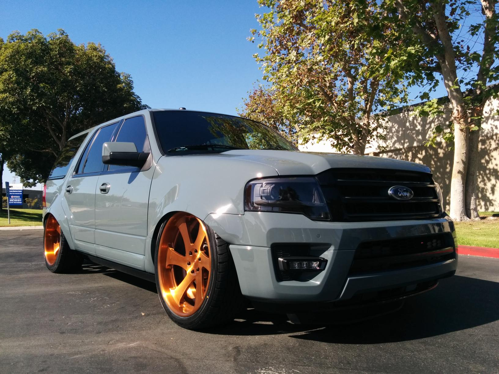 2015 Ford Expedition Pimped For The Sema Show Autoevolution