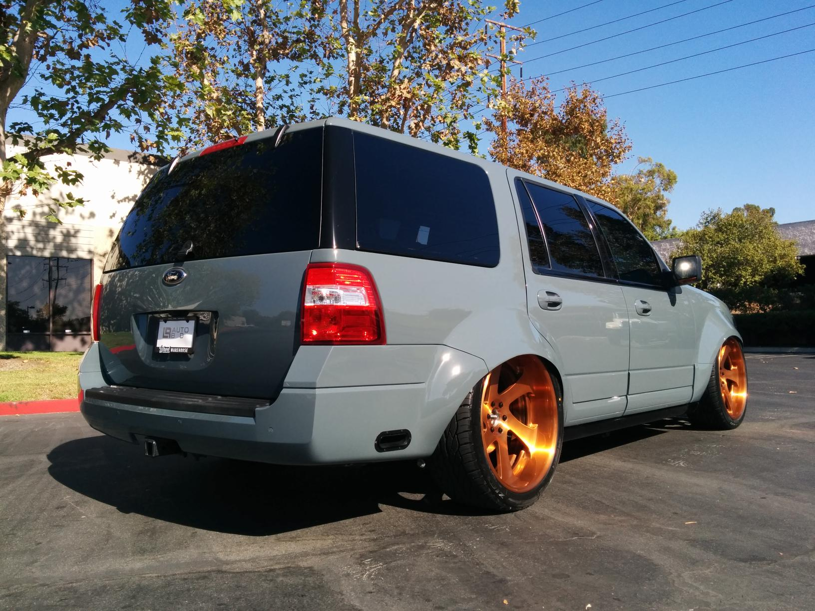 Ford Escape Ecoboost >> 2015 Ford Expedition Pimped for the SEMA Show - autoevolution