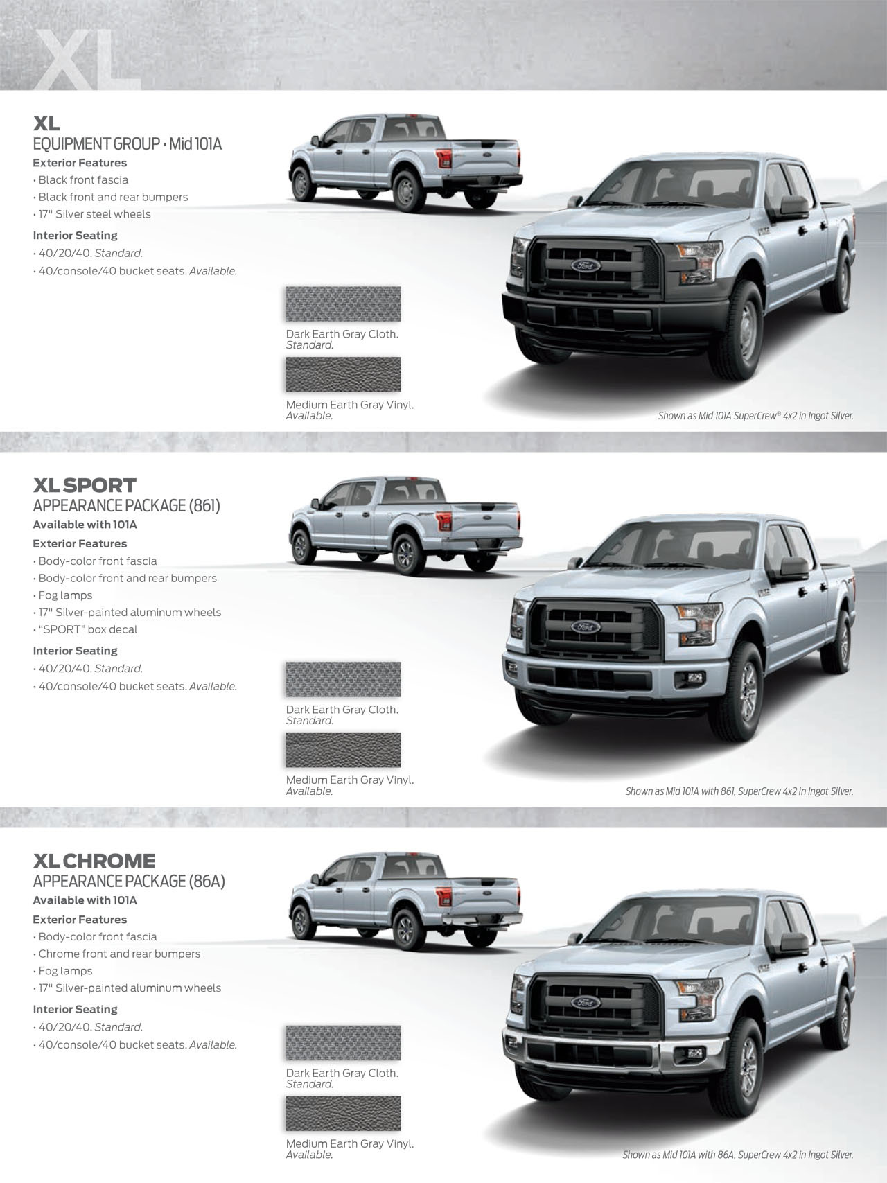 2015 ford f 150 shows its styling potential with new appearance guide autoevolution
