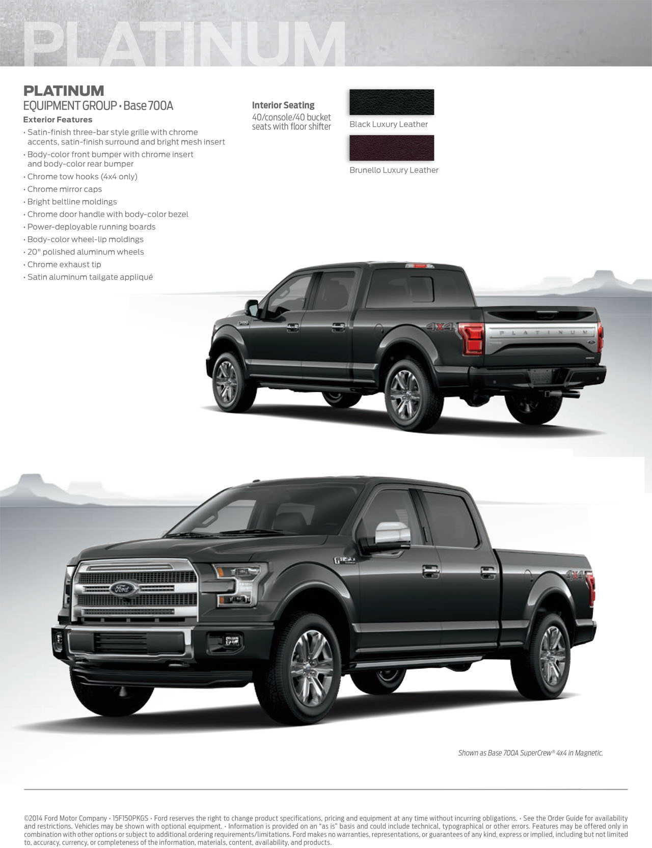 2015 ford f 150 appearance guide
