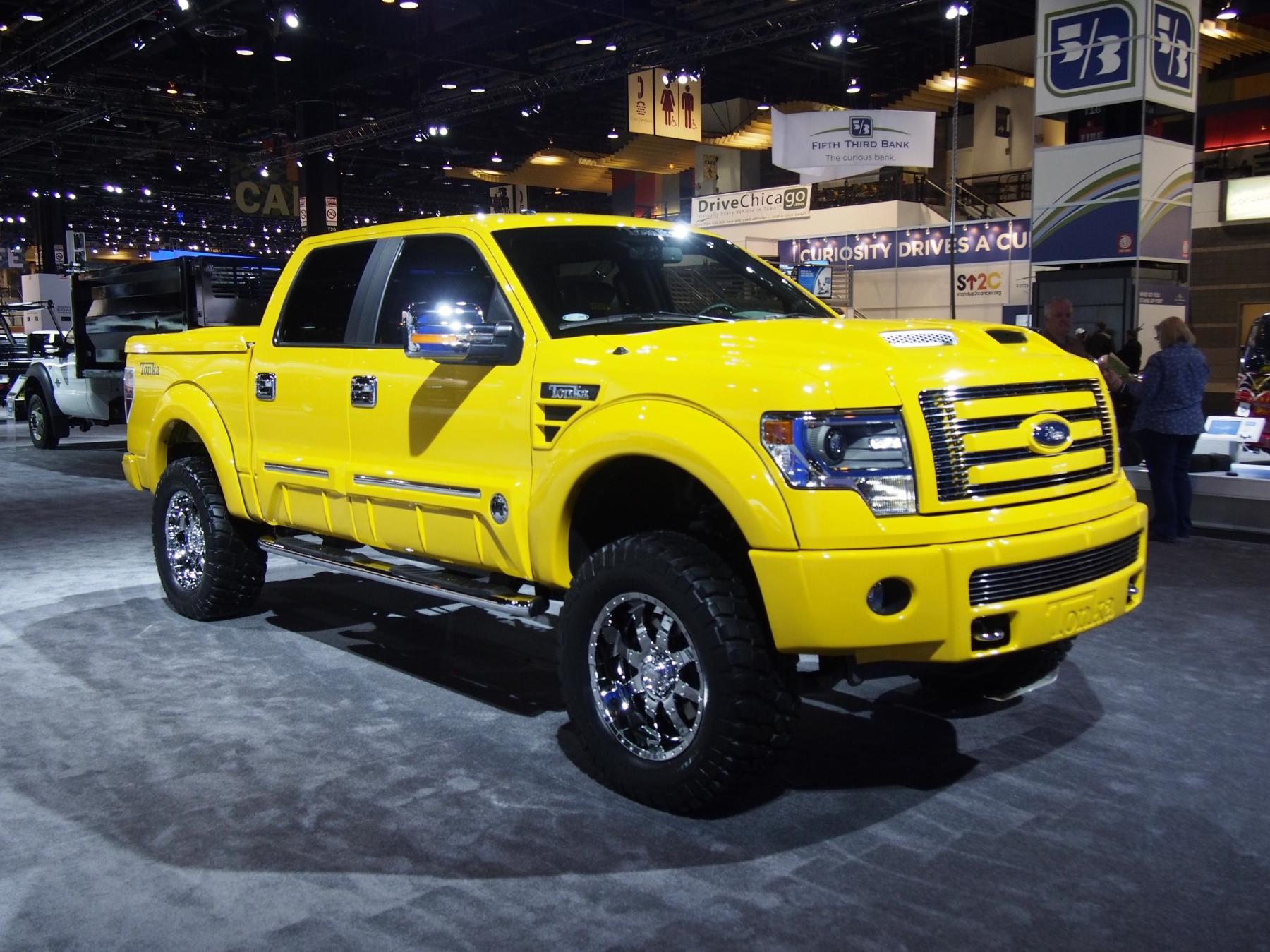 2014 ford f 150 tonka truck