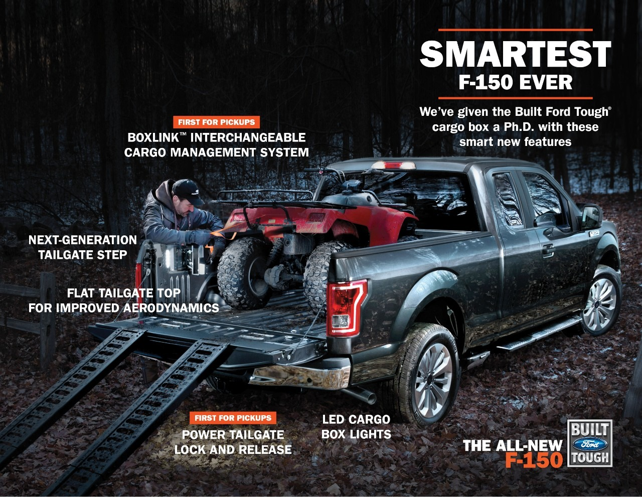 2015 ford f 150 breaks cover autoevolution - 2015 Ford F 150 King Ranch Tailgate