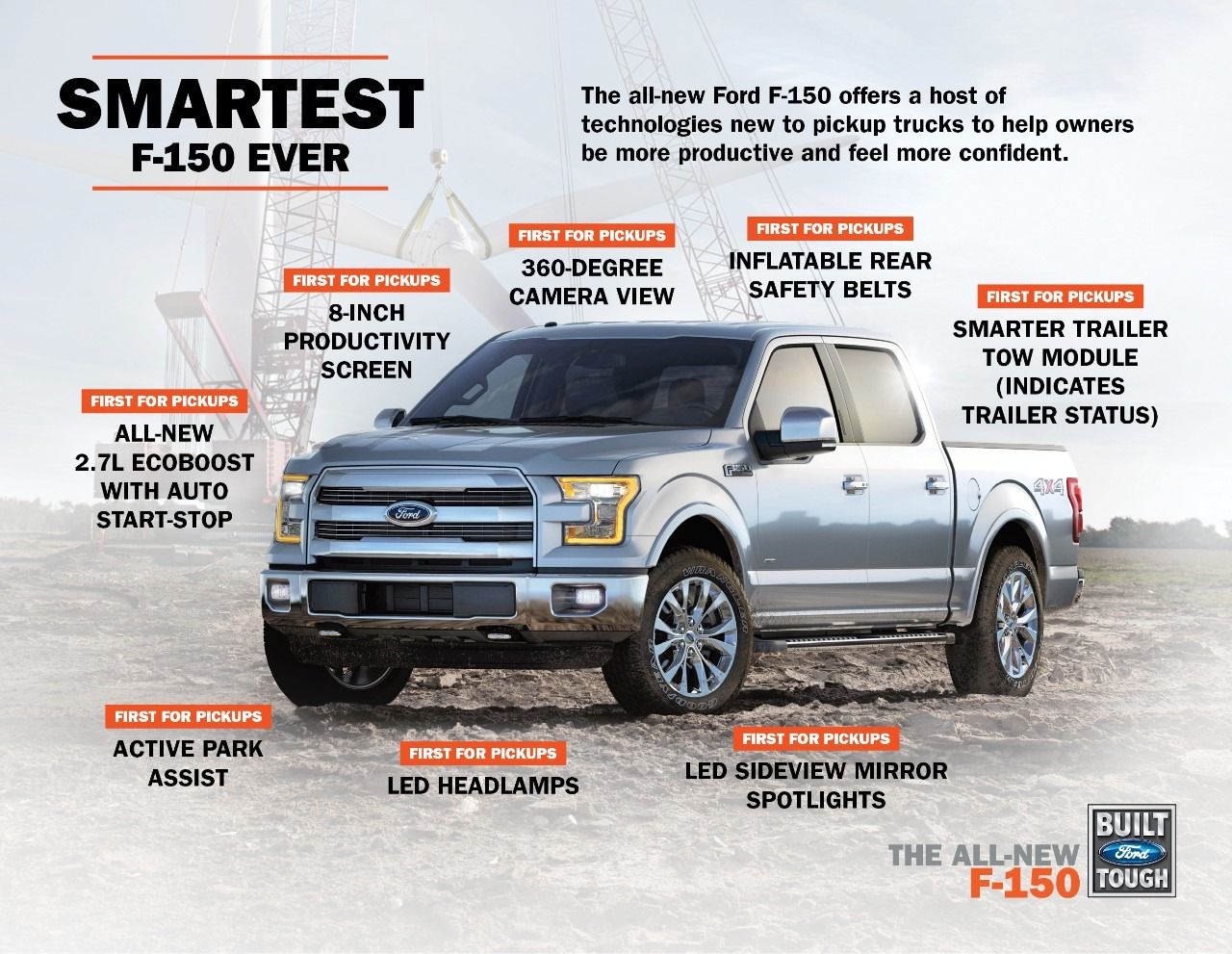 2015 Ford F-150 Breaks Cover - Photo Gallery