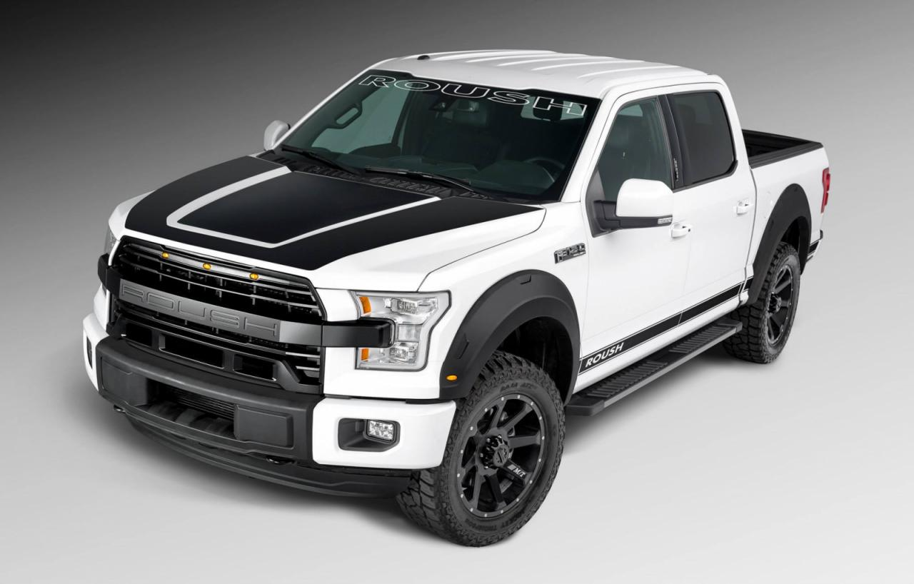 2015 ford f 150 embraces the roush treatment it 39 s mostly about appearance autoevolution. Black Bedroom Furniture Sets. Home Design Ideas