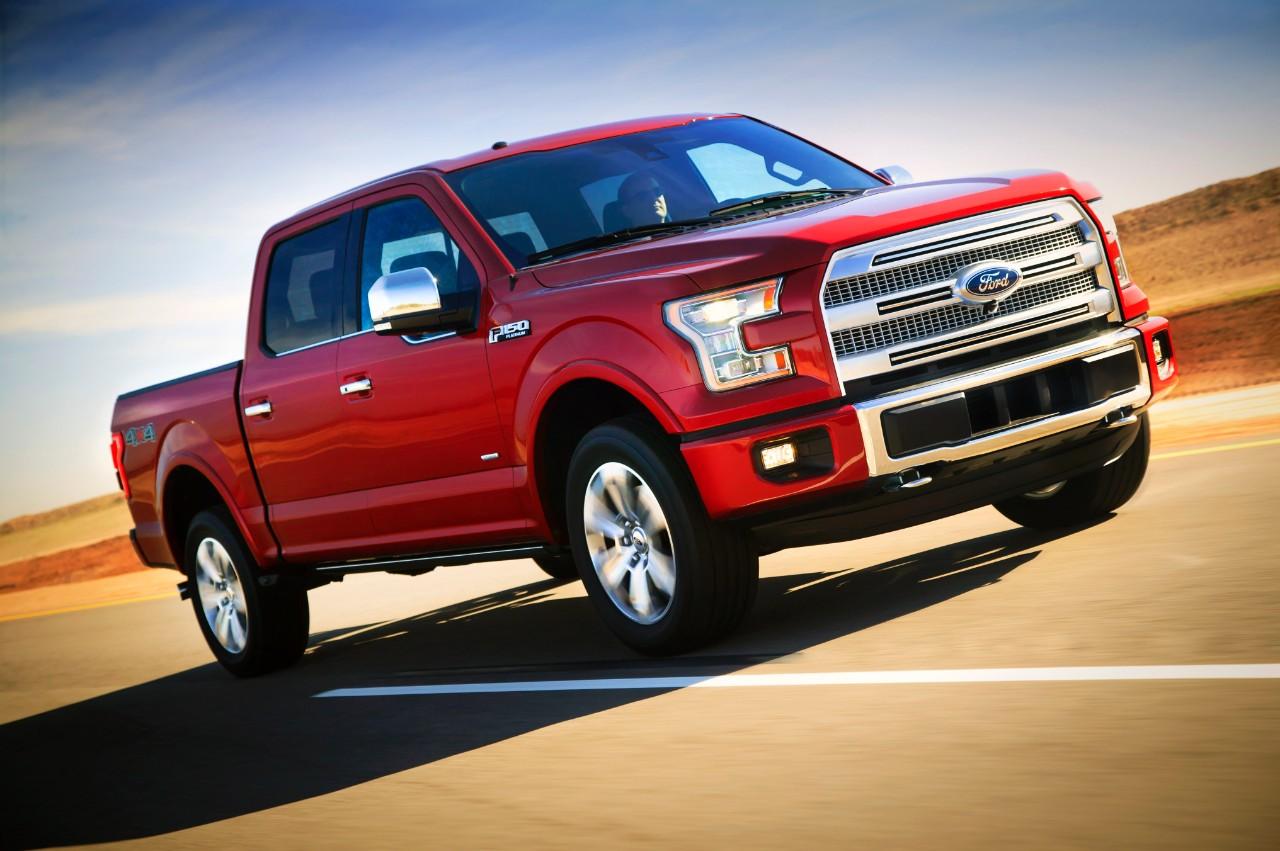 2015 ford f 150 platinum