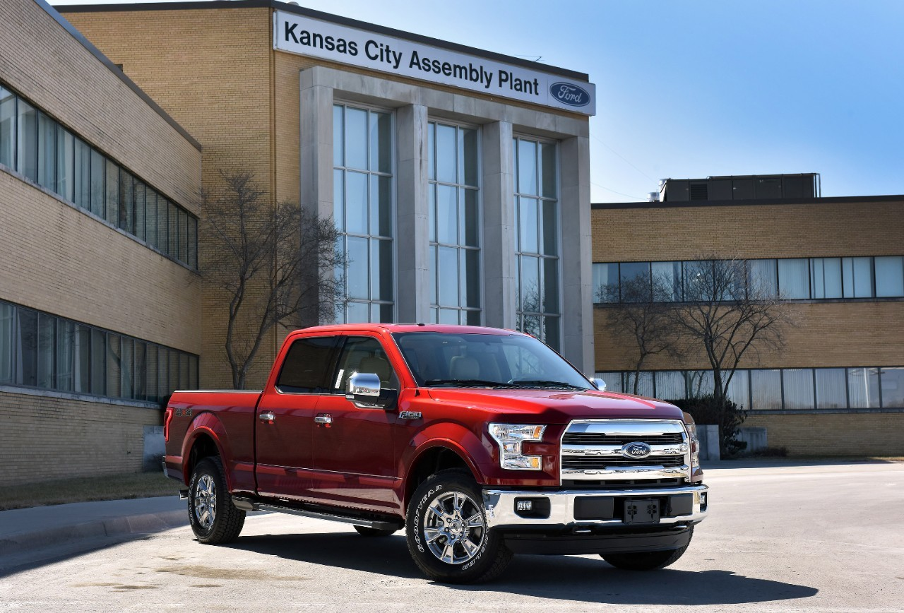 2015 Ford F-150 Now Made at the Kansas City Assembly Plant ...