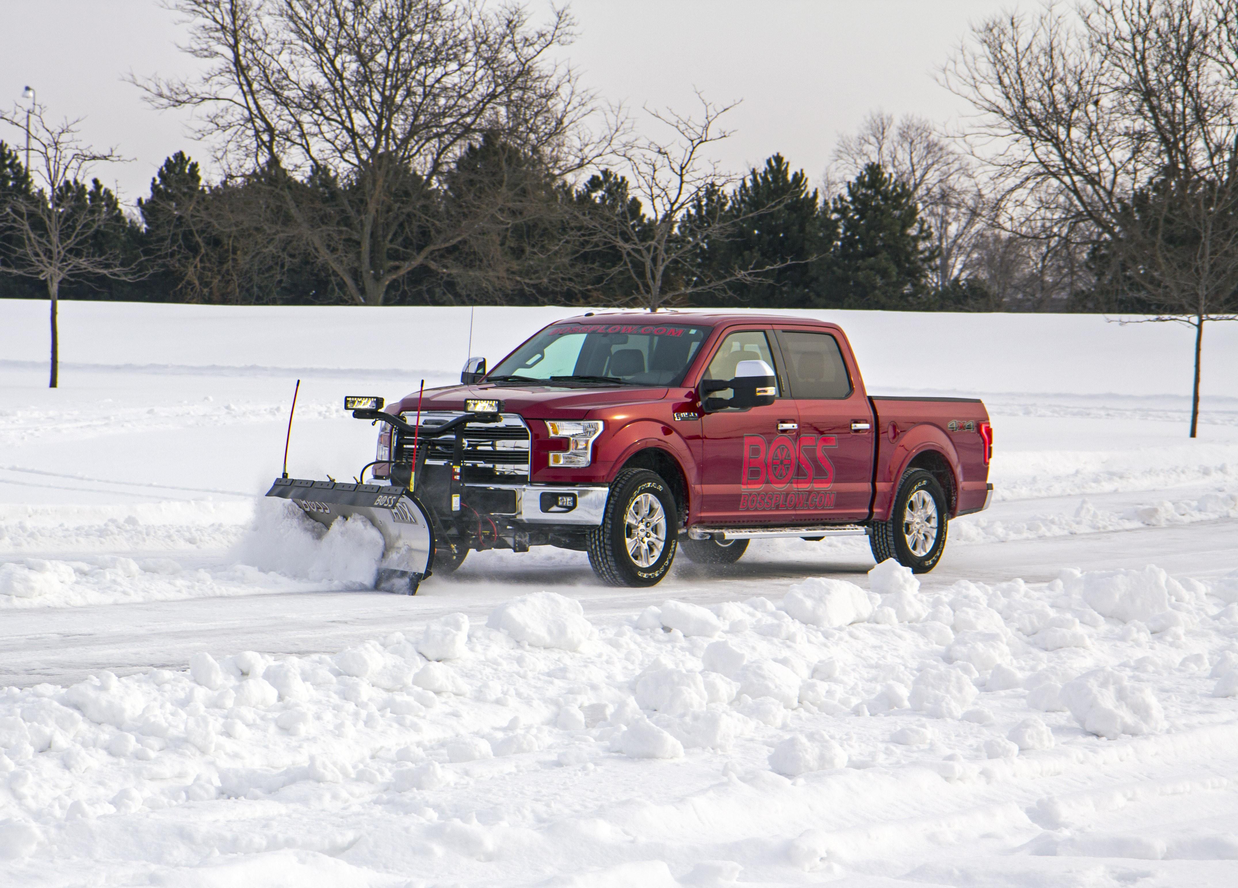 2015 Ford F 150 Snow Plow Option Costs 50 Bucks Sans The