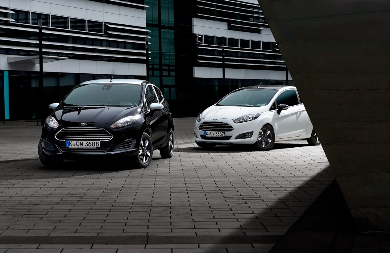 2015 Ford Fiesta Black Amp White Editions Detailed Ka Gets