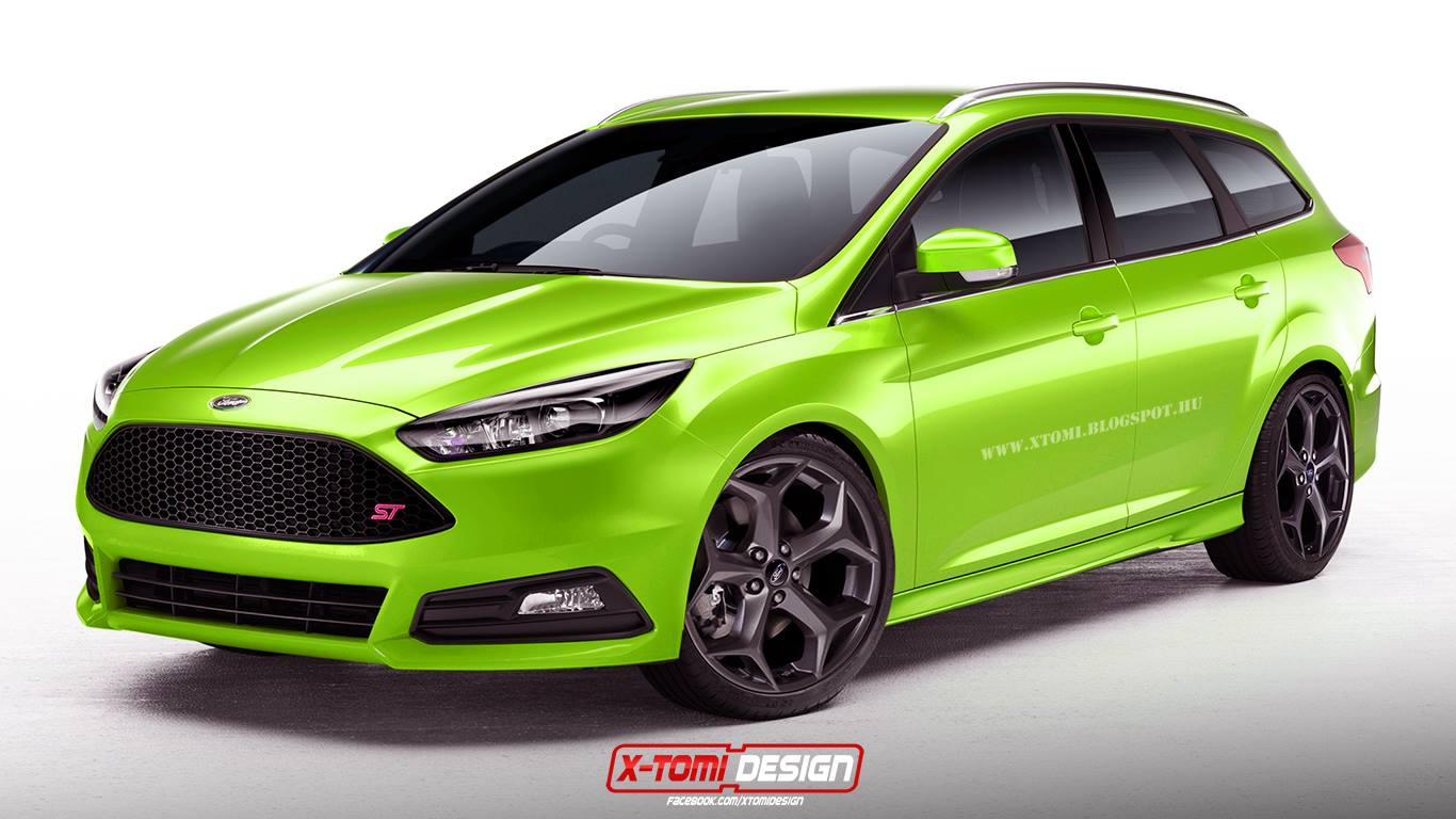 2015 Ford Focus St Wagon Rendered Makes Sense As A Diesel