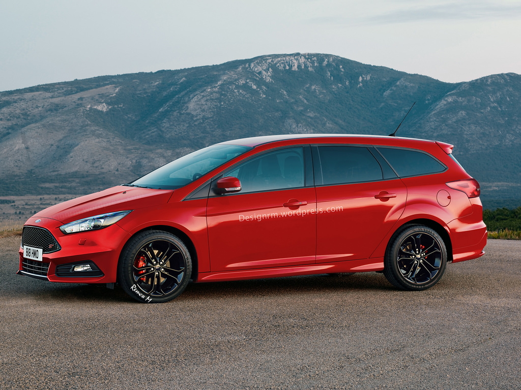 2015 ford focus st wagon rendered makes sense as a diesel hot hatch autoevolution. Black Bedroom Furniture Sets. Home Design Ideas
