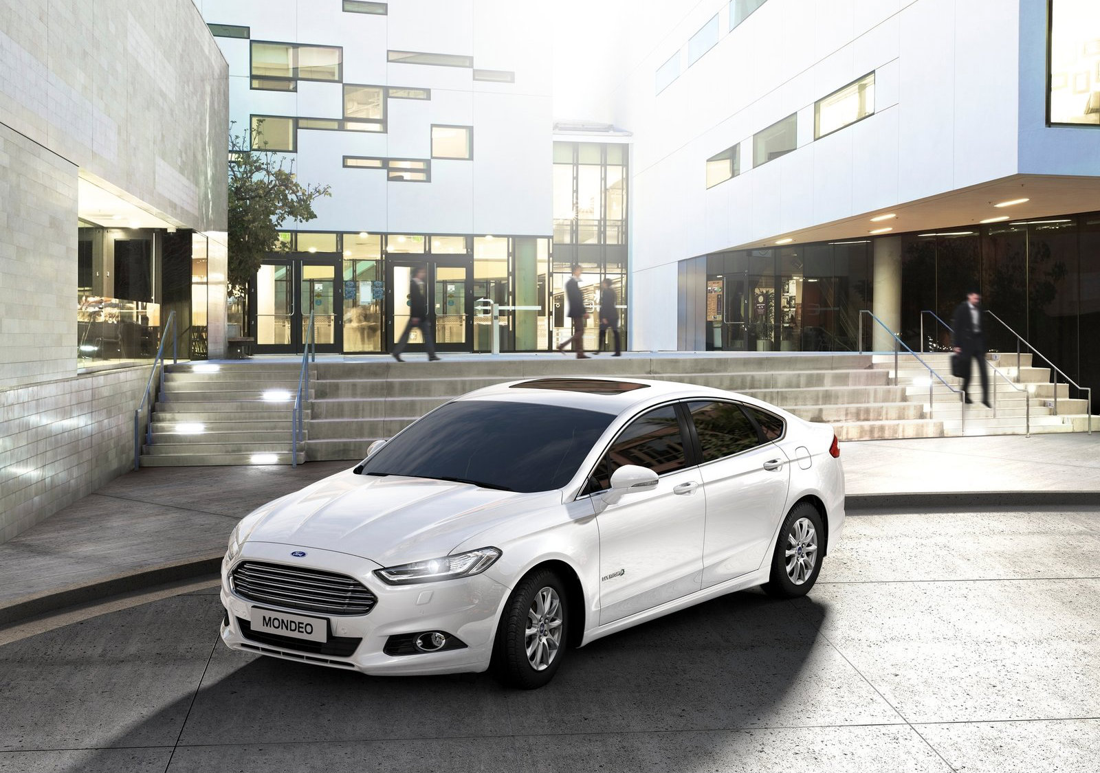 2015 ford mondeo hybrid entered production in spain pricing announced autoevolution. Black Bedroom Furniture Sets. Home Design Ideas