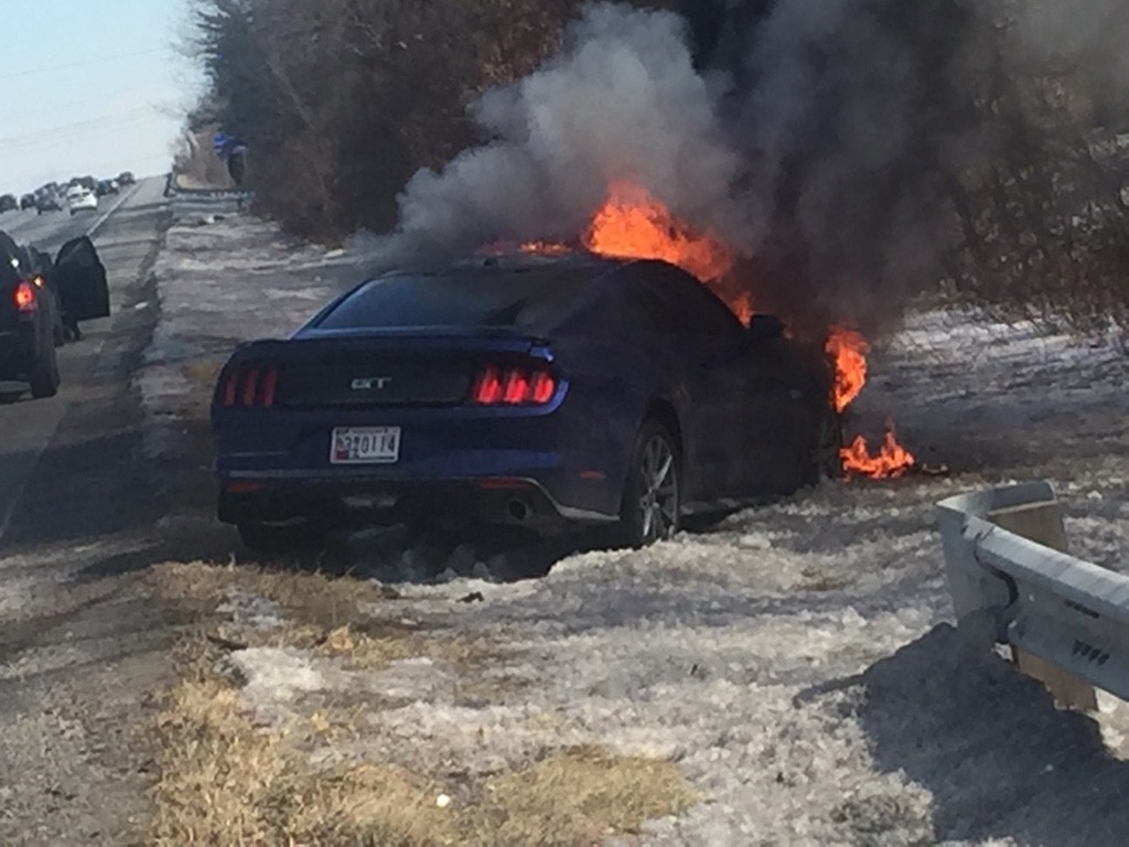 2015 Ford Mustang Burns To A Crisp Had Only 6k Miles On