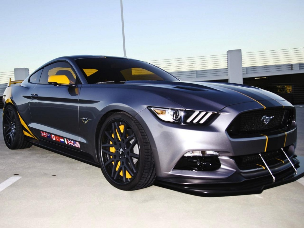 2015 ford mustang gt f 35 lightning ii edition looks ballistic autoevolution. Black Bedroom Furniture Sets. Home Design Ideas
