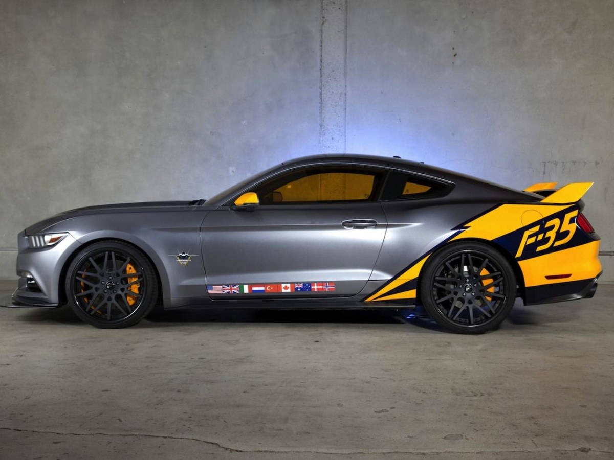 2015 Ford Mustang GT F-35 Lightning II Edition Looks Ballistic - Photo