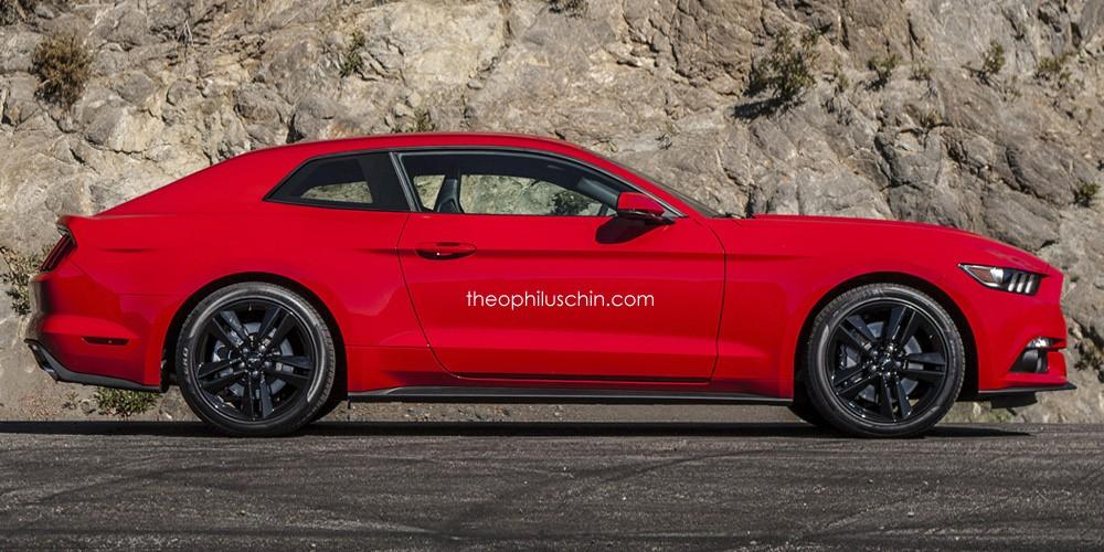 2015 Ford Mustang Hatchback Rendering Doesn T Look Half