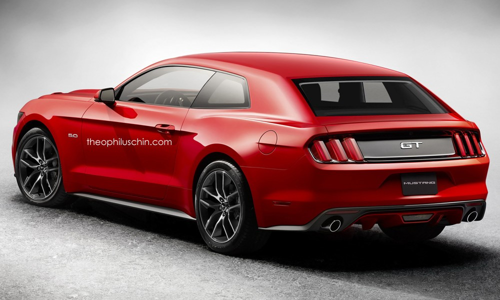 2015 Ford Mustang Hatchback Rendering Doesn T Look Half