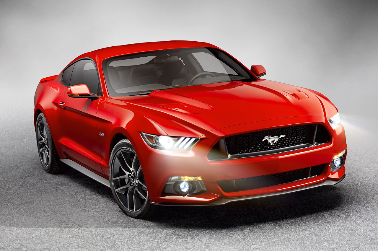 2015 Ford Mustang Officially Unveiled - autoevolution