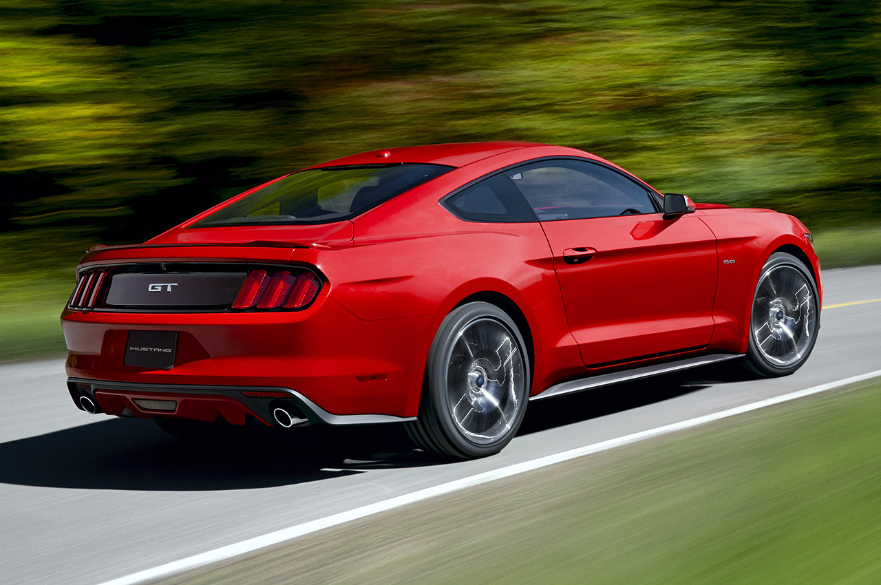 2015 ford mustang officially unveiled autoevolution. Black Bedroom Furniture Sets. Home Design Ideas