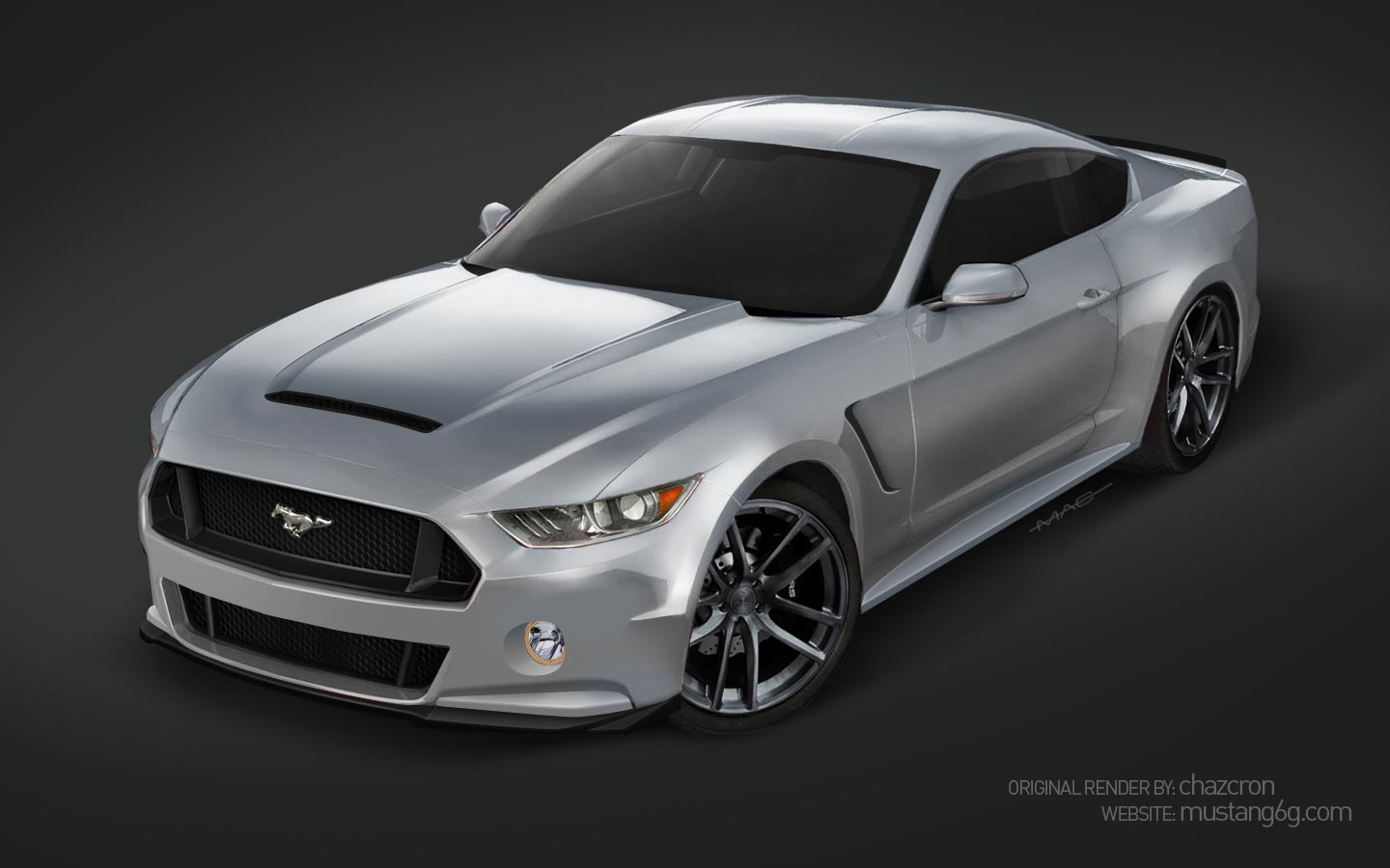 M E further Chazcronrender Dkgrn likewise Revell Ford Mustang Boss also Mustang Image likewise Ford Mustang To Gt Conversion Kit W Mamba Hood. on ford mustang body kits