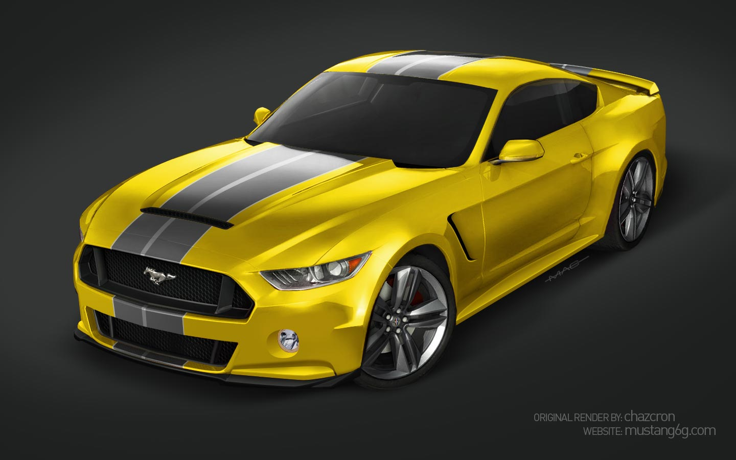 2015 ford mustang rendered with various body kits autoevolution. Black Bedroom Furniture Sets. Home Design Ideas