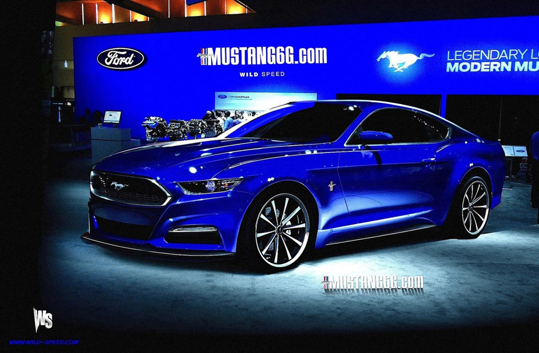 and details 2015 ford mustang rendering from story 2015 ford mustang