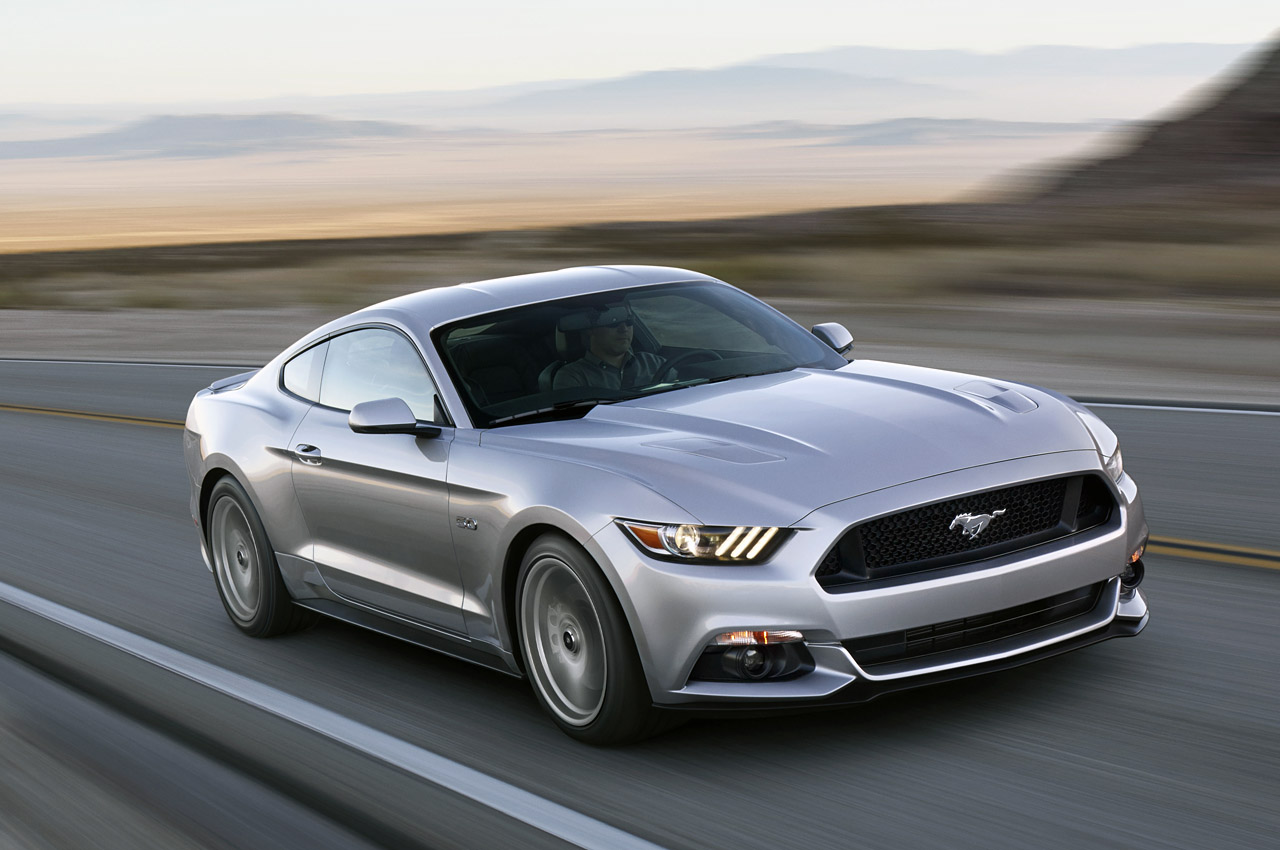 2015 Ford Mustang Revealed in Ingot Silver - autoevolution