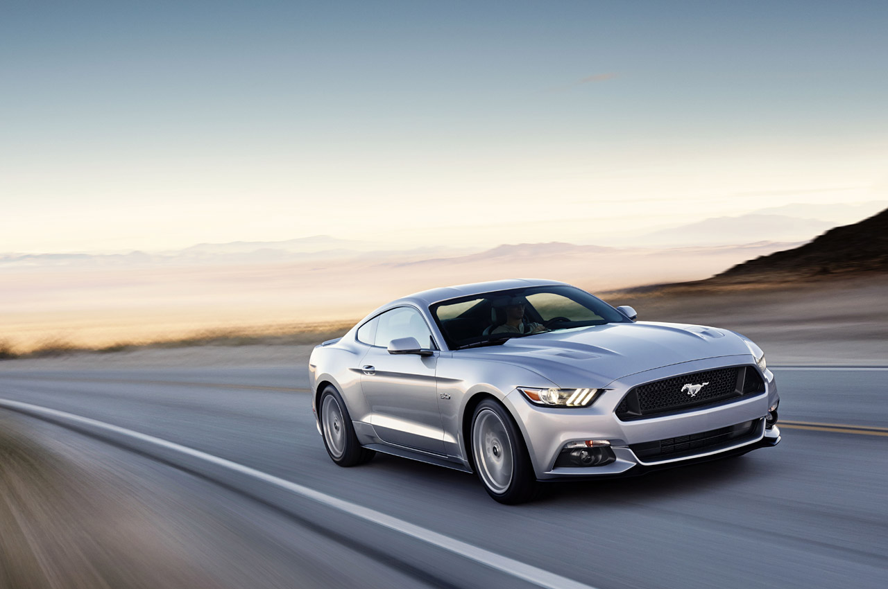 2015 Ford Mustang Revealed In Ingot Silver Autoevolution