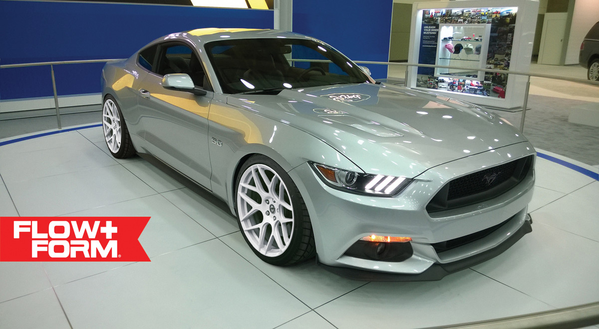 2015 Ford Mustang Rides On Hre Flowform Wheels Autoevolution