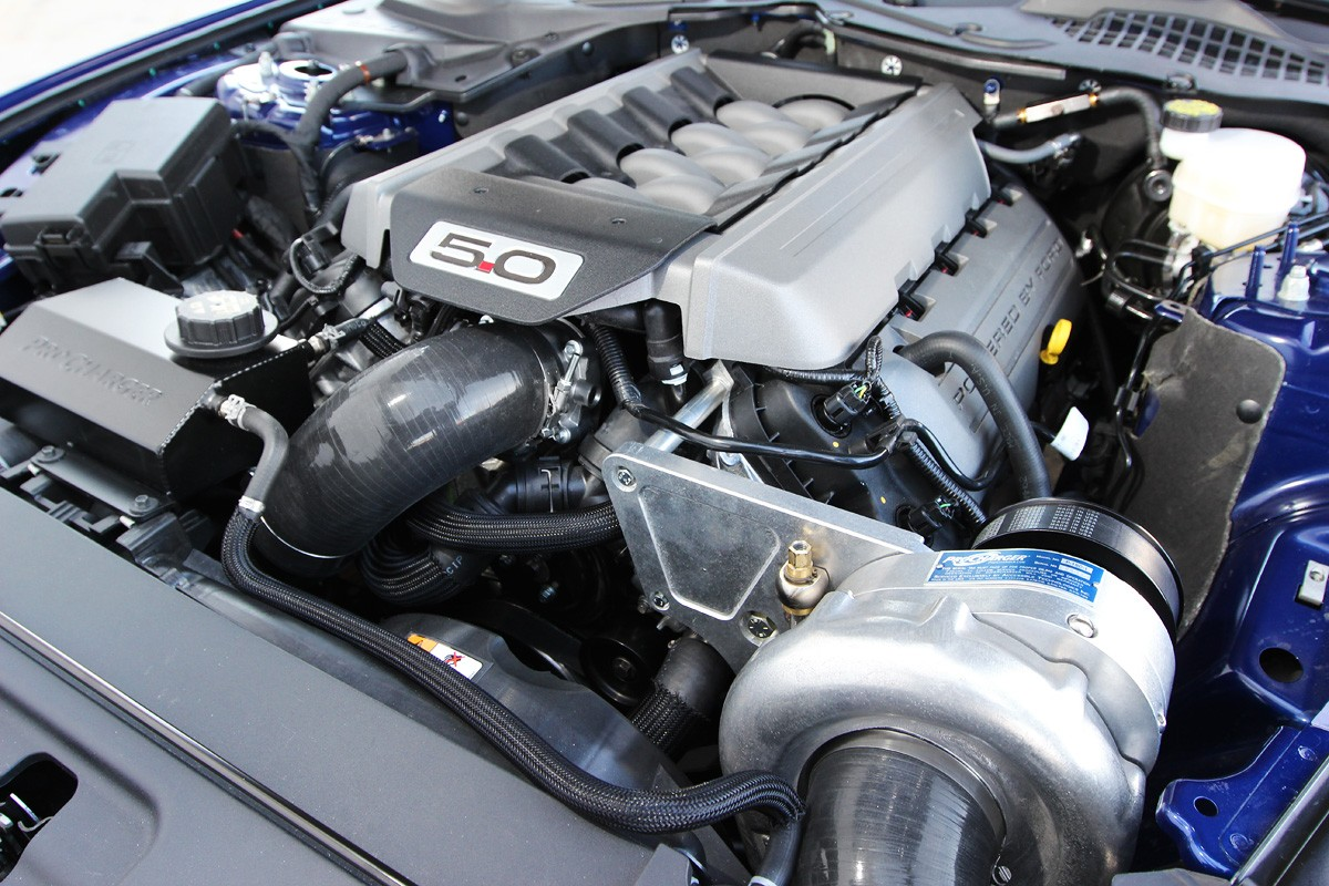 V6 Mustang Hp >> 2015 Ford Mustang Supercharger System from ProCharger ...