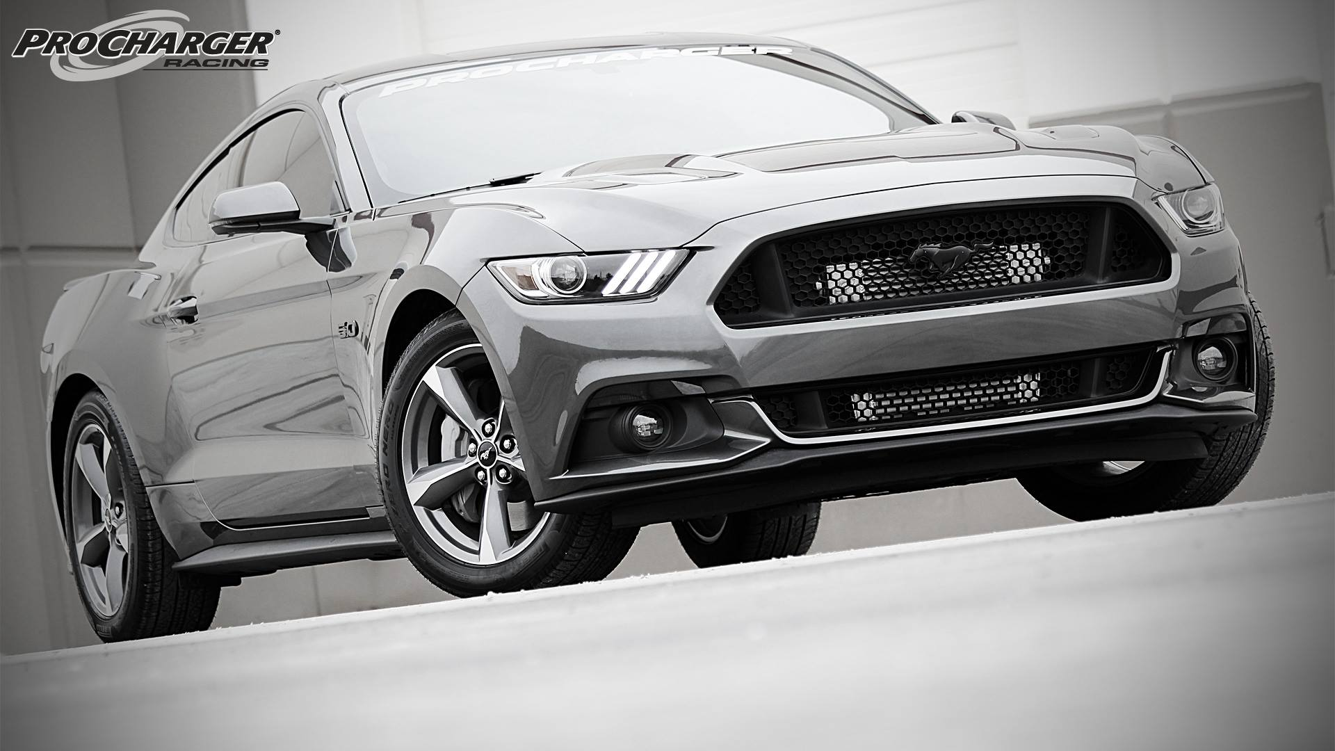 2015 Ford Mustang Supercharger System from ProCharger ... 2015 Police Charger