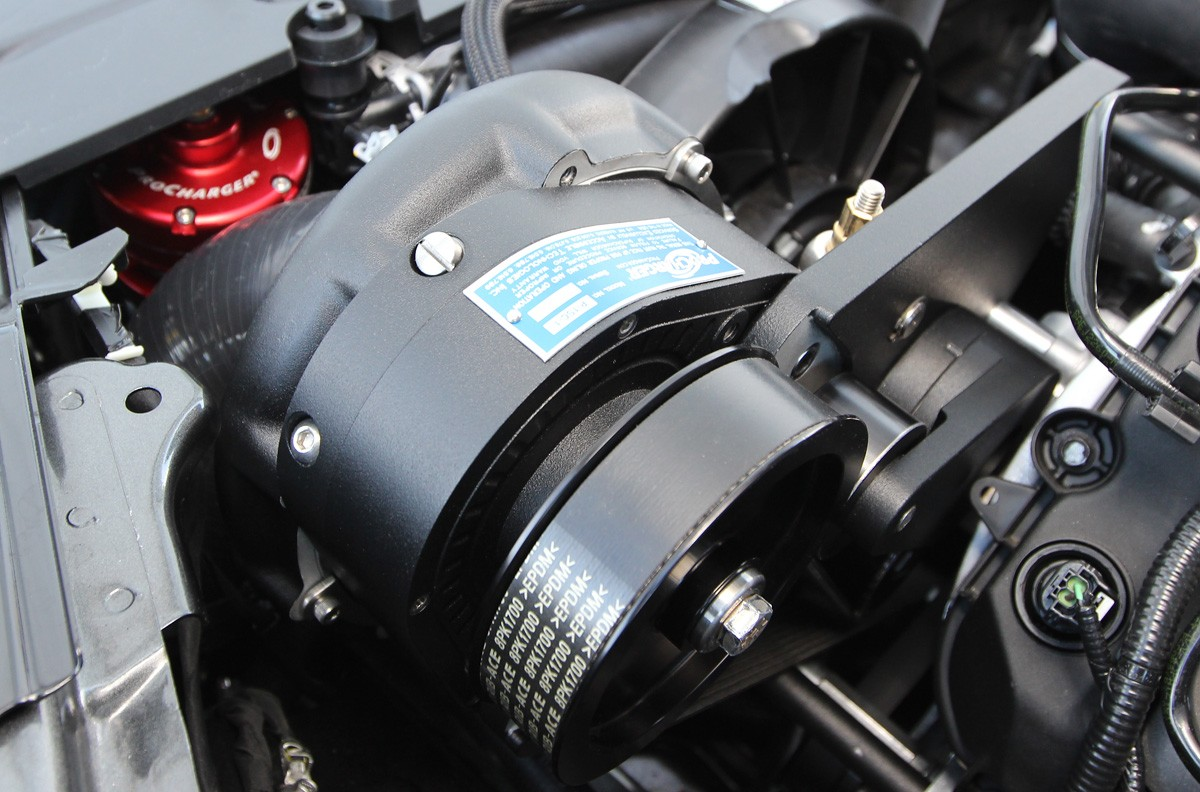 2015 Ford Mustang Supercharger System from ProCharger Pushes