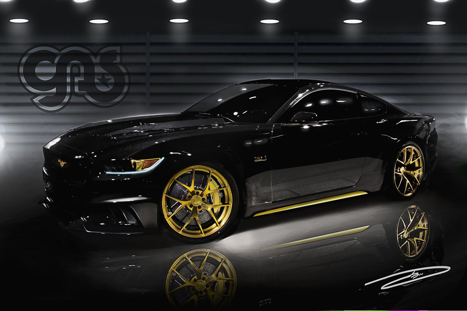 Acura Ilx Lowering Springs >> 2015 Ford Mustang to Take SEMA by Storm With Over 12 Custom Vehicles - autoevolution