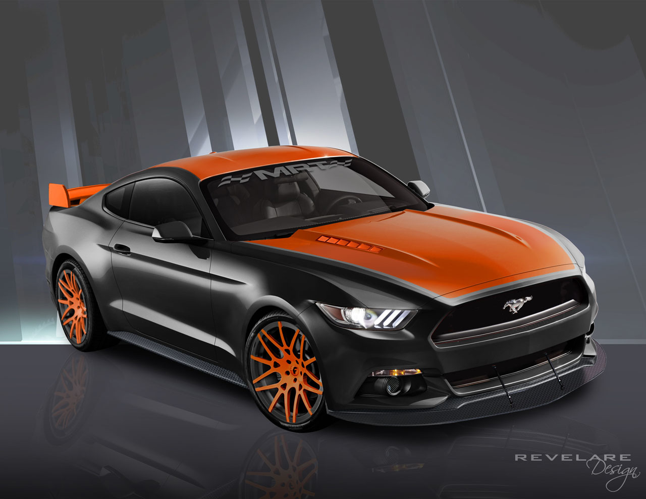 Mustang  Tone Paint Jobs
