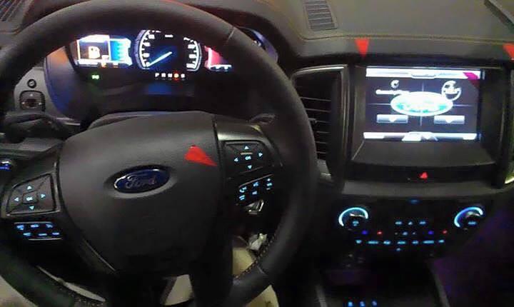 2015 Ford Ranger Wildtrak Spied By MZCrazyCars