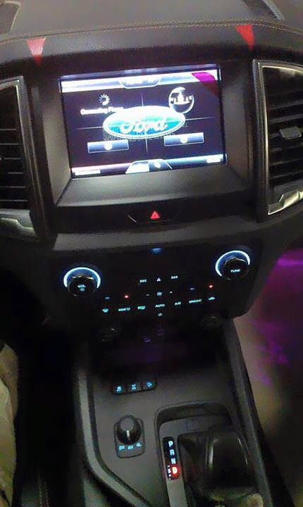 2015 Ford Ranger Facelift Shows Us Its Interior ...