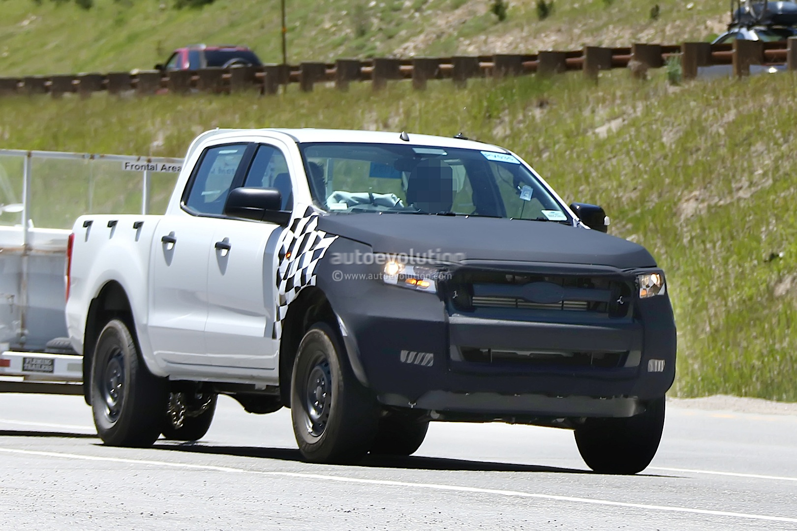 2015 ford ranger interior spied autoevolution. Black Bedroom Furniture Sets. Home Design Ideas