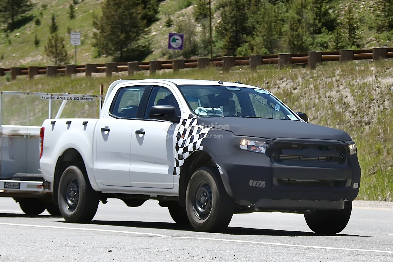 2015 Ford Ranger Towing A Trailer