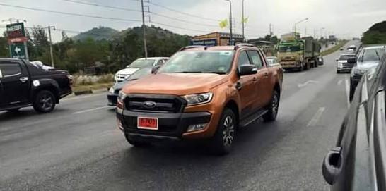 2015 Ford Ranger Wildtrak Spied Camo Free In Thailand