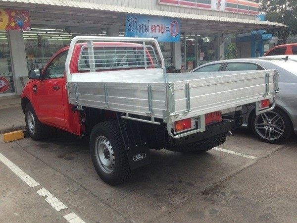 Ford Escape Ecoboost >> 2015 Ford Ranger XL Single Cab Chassis Spied in Thailand ...