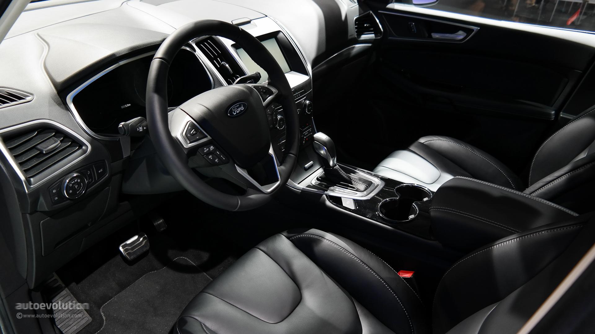 2015 Ford S Max Interior Design