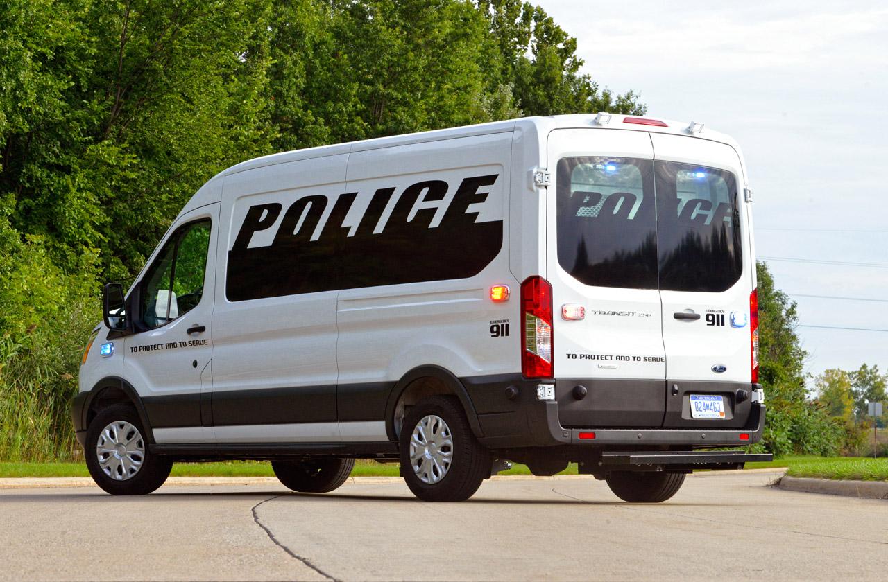 Prisoner Transport Van >> 2015 Ford Transit PTV Concept Could be a Next-Gen Paddy ...