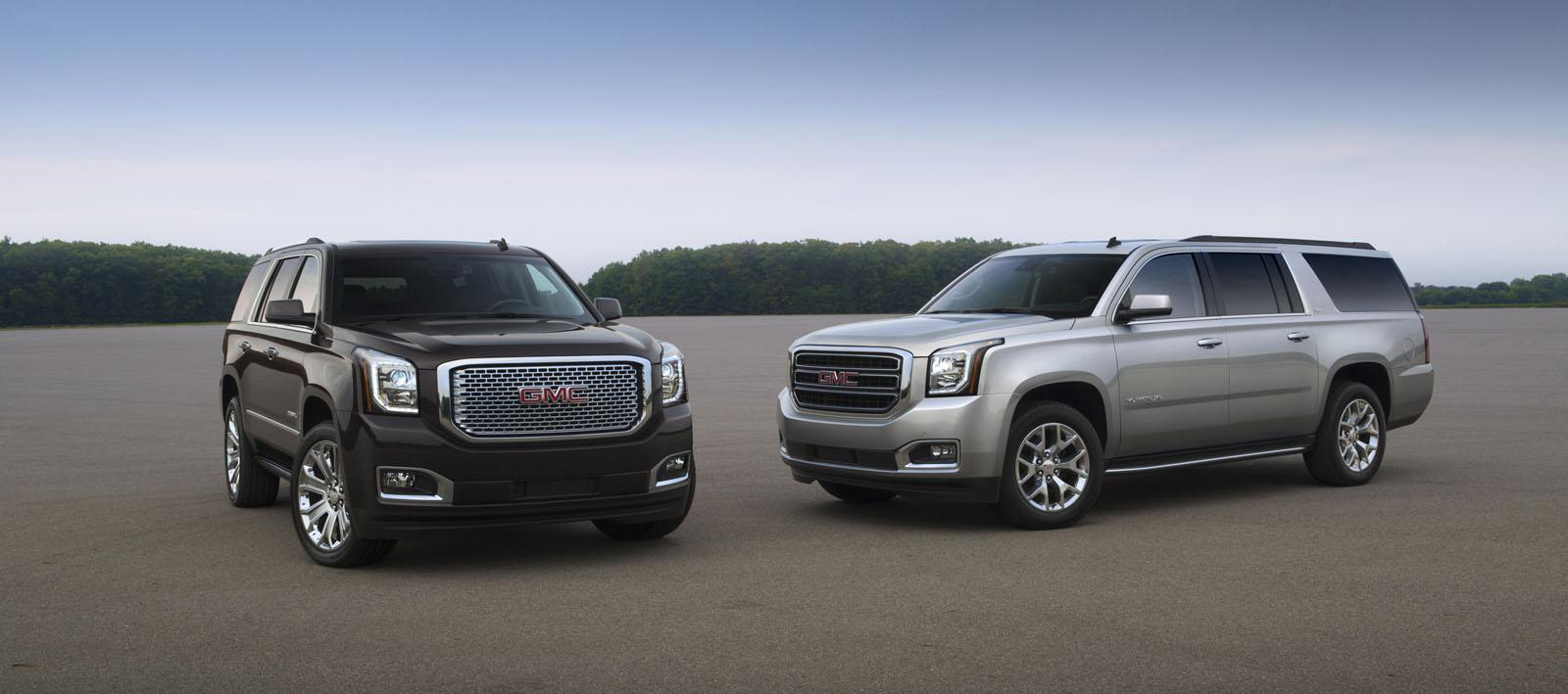 2015 gmc yukon denali yukon xl revealed video. Black Bedroom Furniture Sets. Home Design Ideas