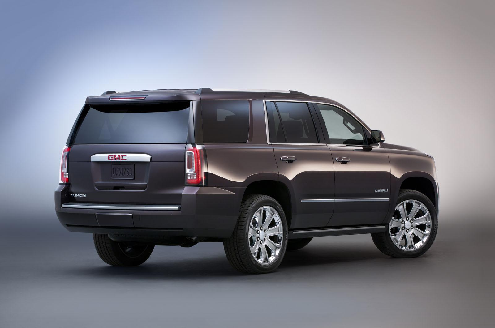 2017 Yukon Denali >> 2015 GMC Yukon Denali, Yukon XL Revealed [Video ...