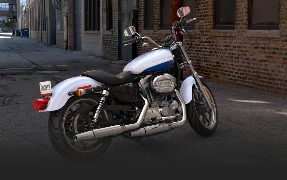 Custom Nissan Maxima >> 2015 Harley-Davidson 883 Sportster Superlow Arrives in Style - autoevolution