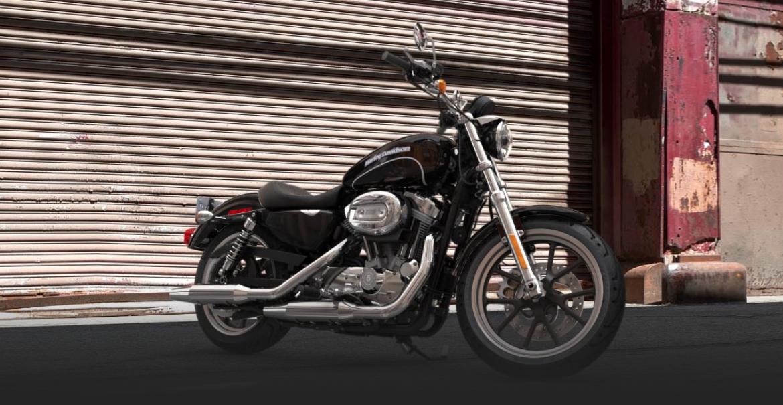 2015 Harley Davidson 883 Sportster Superlow Arrives In