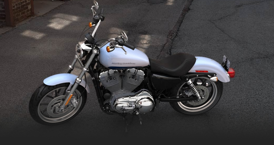 2015 Harley Davidson 883 Sportster Superlow Arrives In