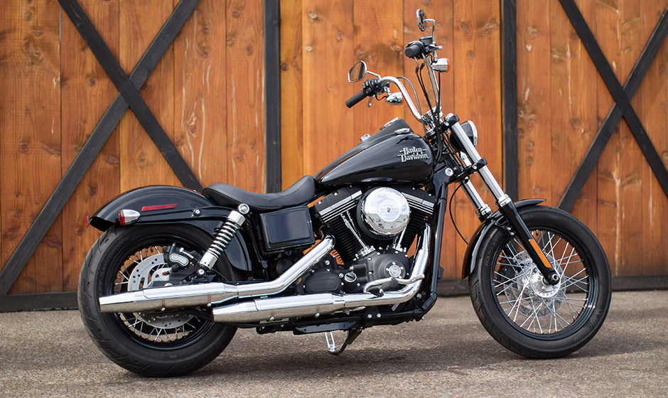 2015 Harley-Davidson Dyna Street Bob - photo gallery