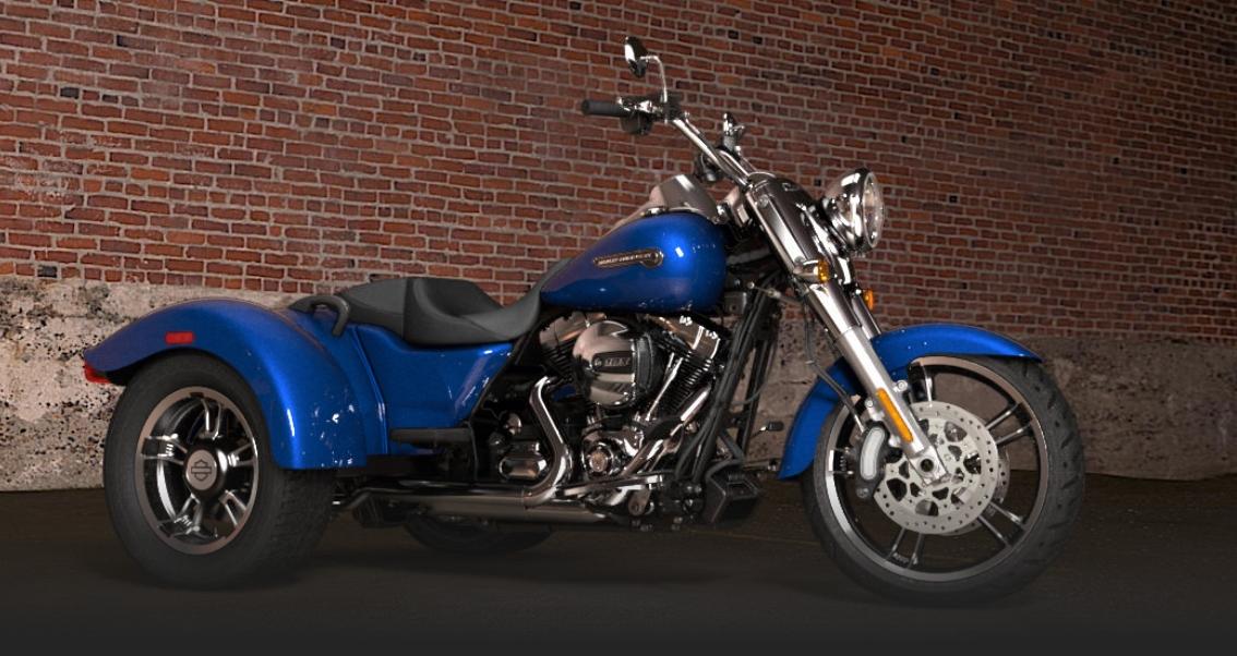 2015 Harley Davidson Freewheeler Trike Makes Appearance