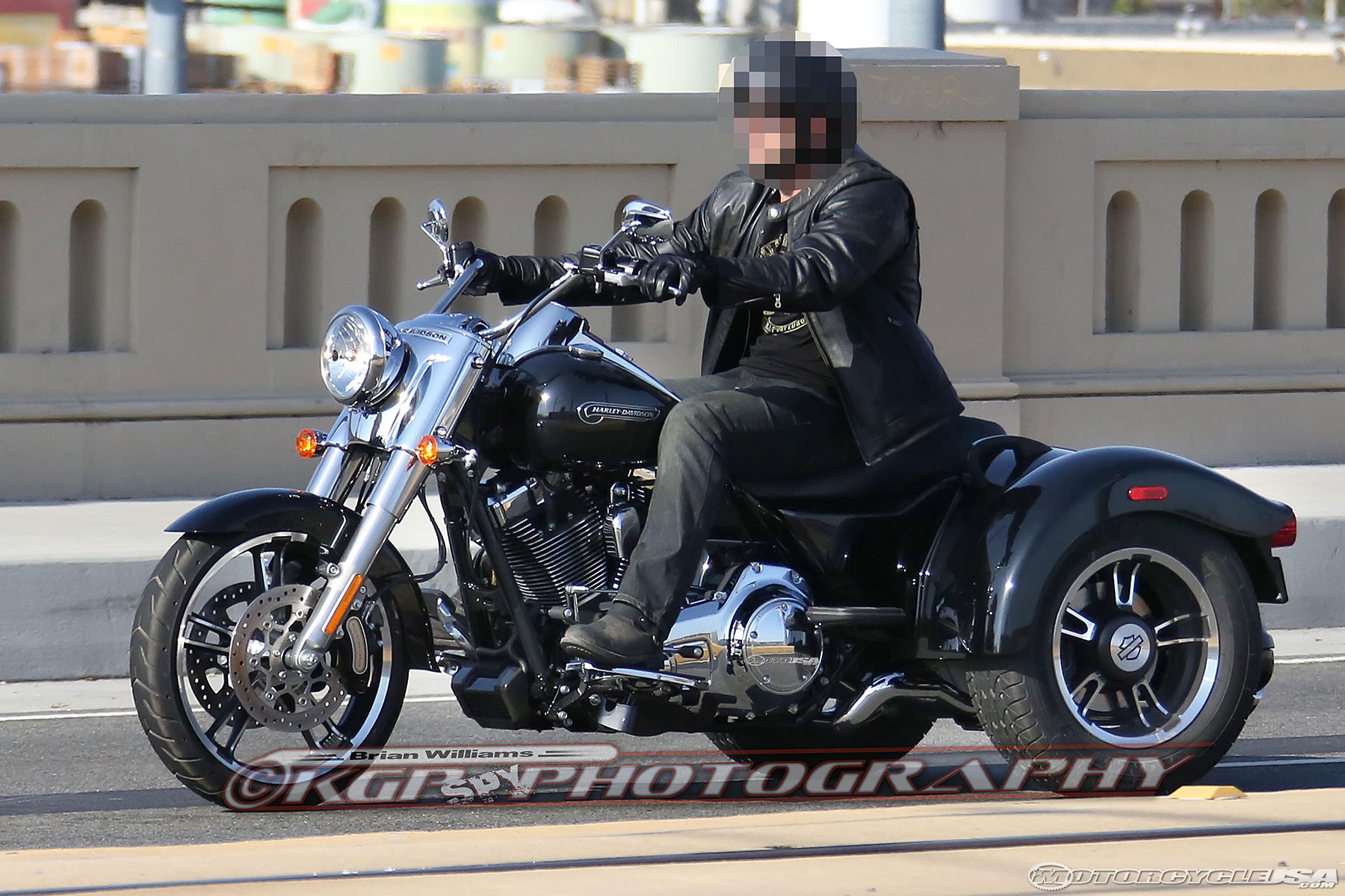 2015 Harley Davidson Freewheeler Trike Spy Shots